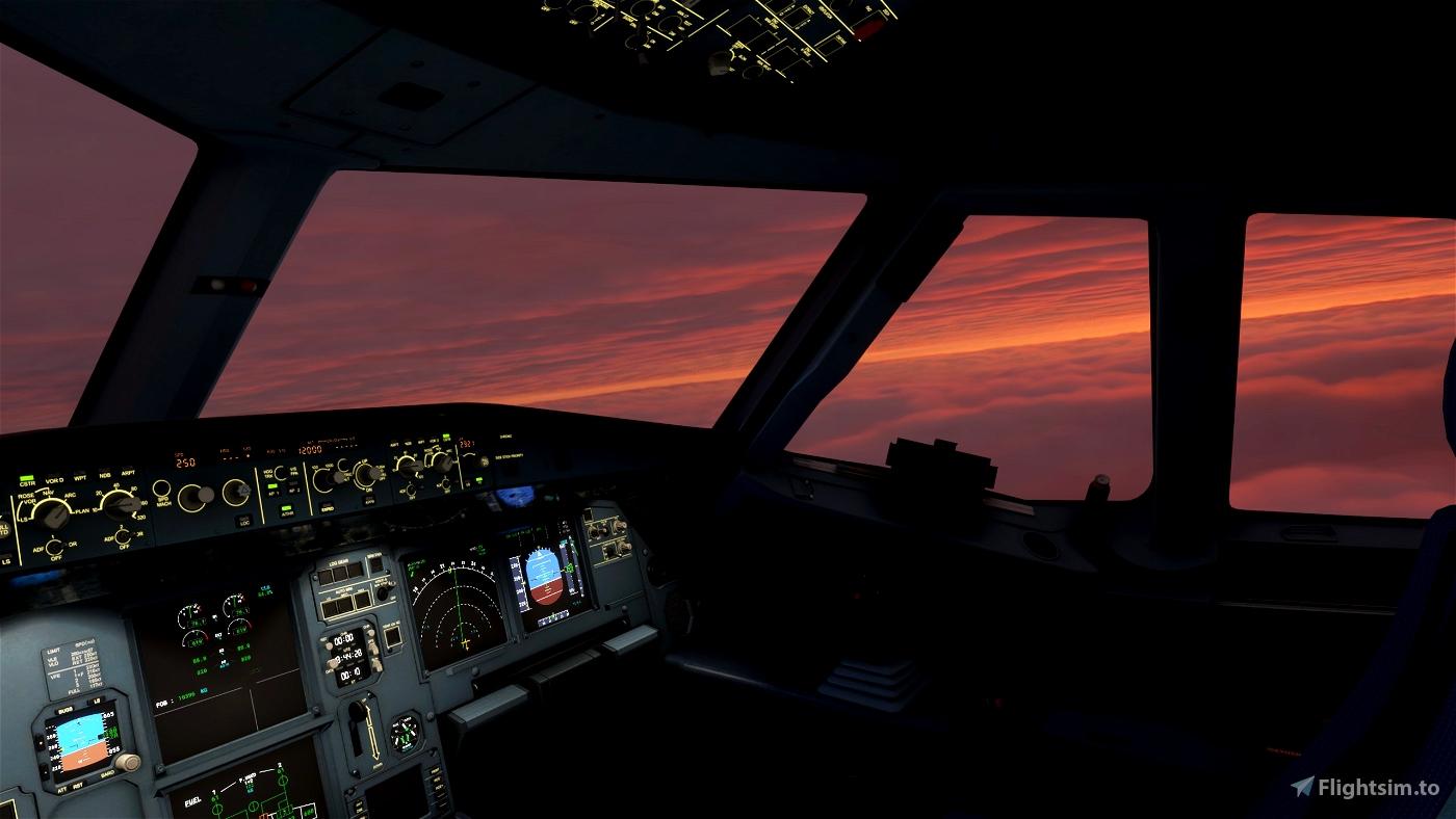 FSX Mission: Amsterdam-London Airline Run