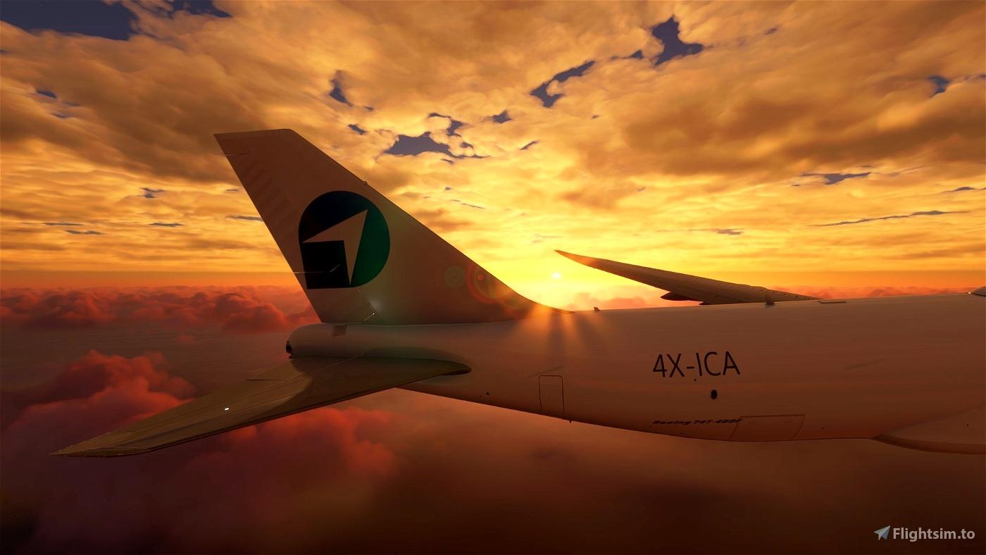 GamerDEAL B747-8 CHALLENGEAIRLINES [NO MIRROR] Microsoft Flight Simulator