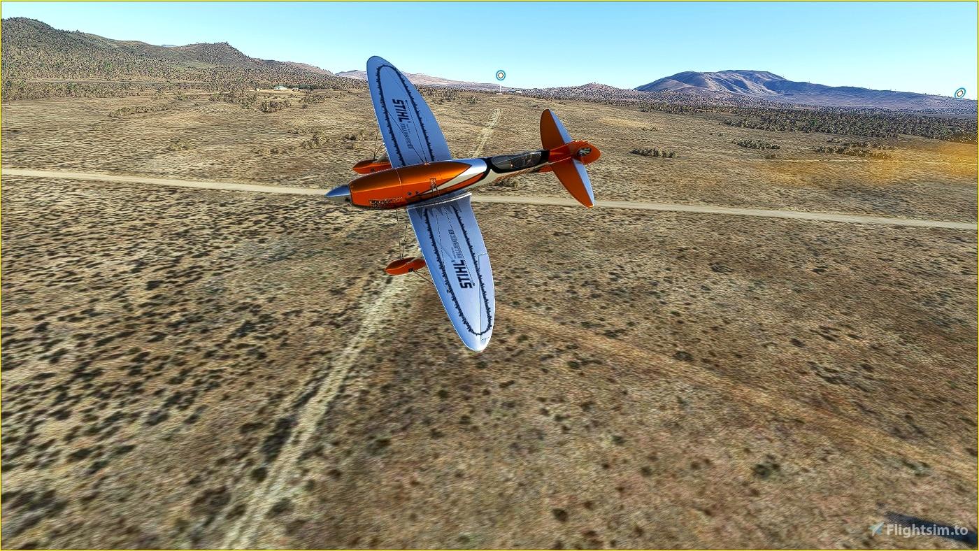 Gee Bee R3 Livery - Stihl Reno Racer