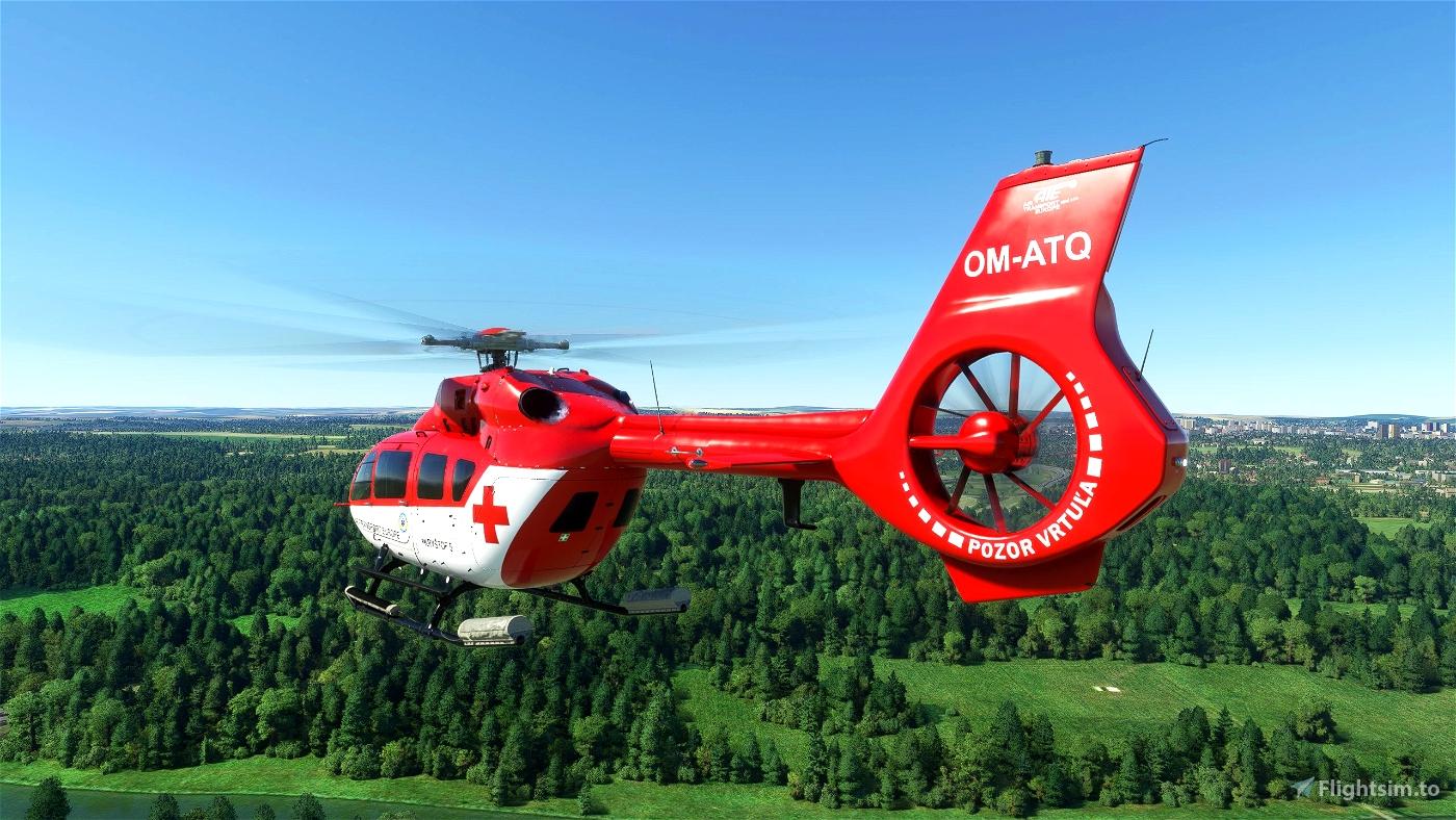 H145 - Air-Transport Europe - PACK [8K]