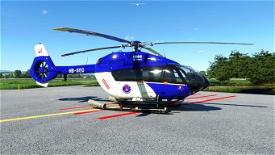 H145_beta_1 POLICE Lausanne (Swiss) Microsoft Flight Simulator