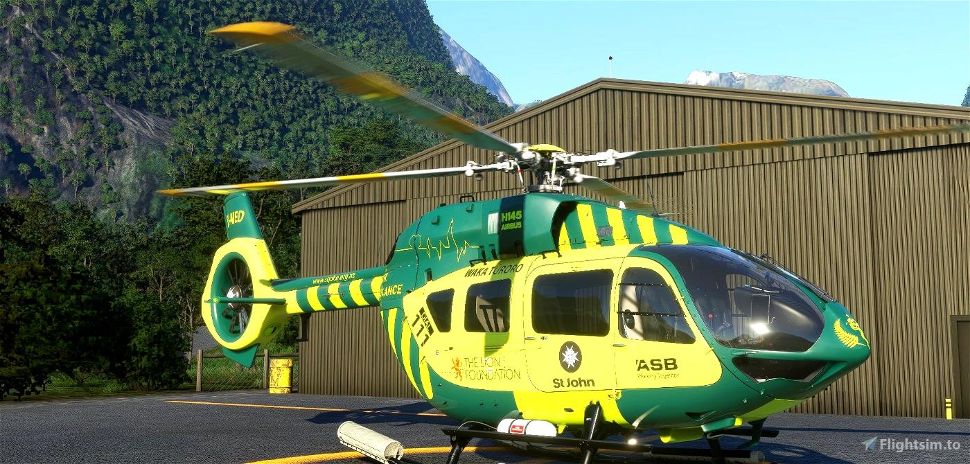 H145 | St John Air Ambulance | Fictional | 8K