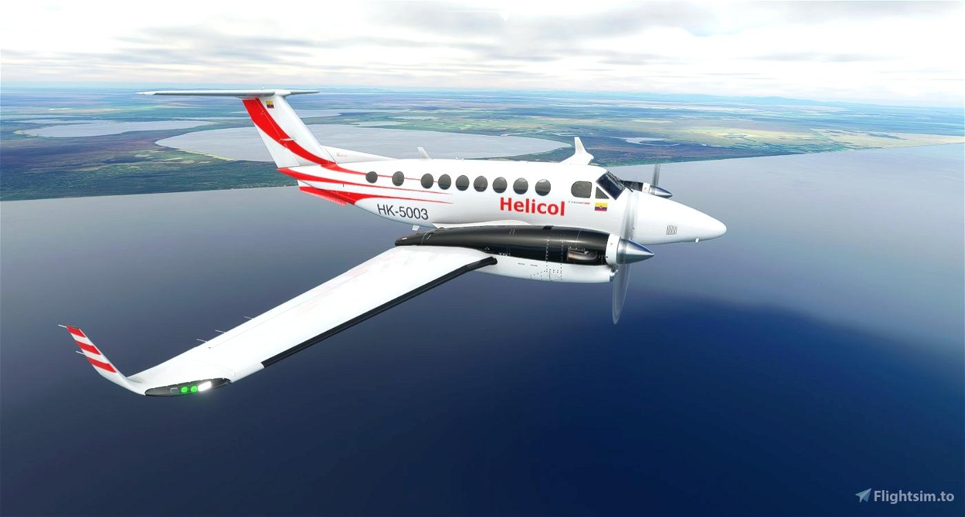 Helicol King Air 350i (Request) Microsoft Flight Simulator