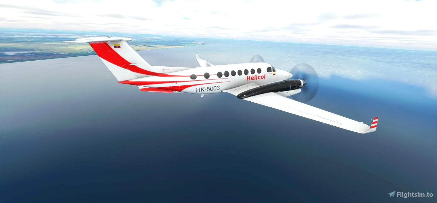 Helicol King Air 350i (Request)