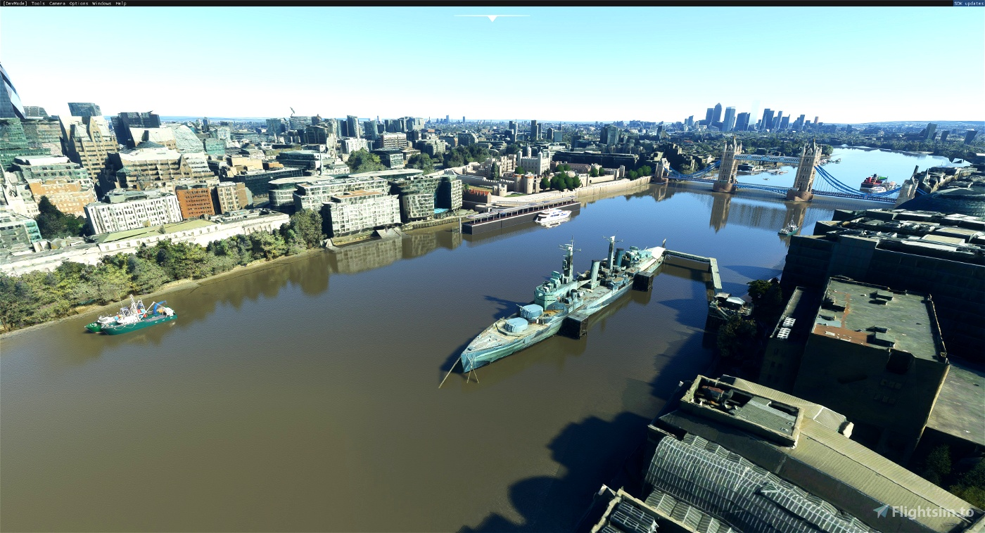HMS Belfast. moored on the River Thames, London