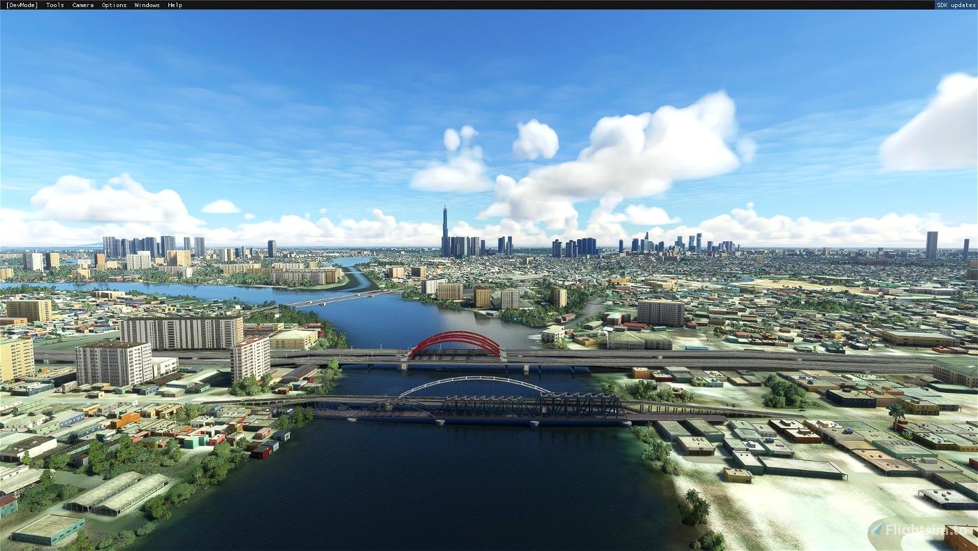 Ho Chi Minh City Landmarks Microsoft Flight Simulator
