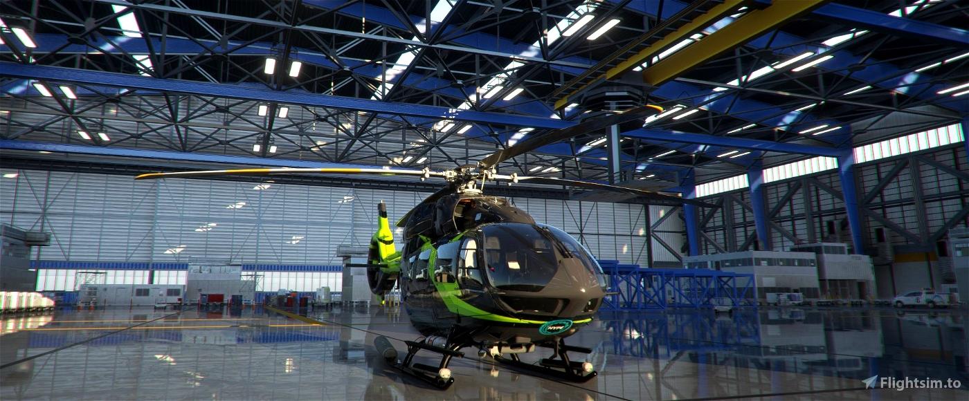 HPG AIRBUS H145 LUX GREEN LIVERY Microsoft Flight Simulator