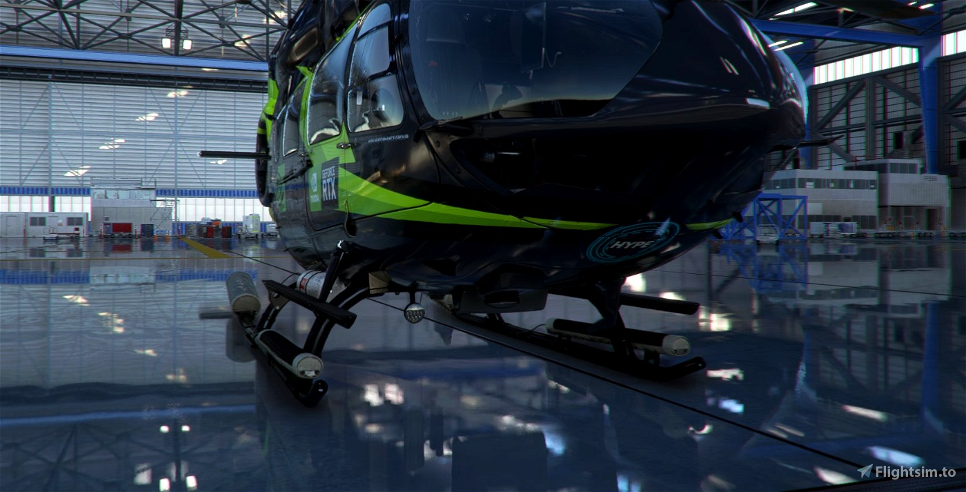 HPG H145 LUX NVIDIA LIVERY
