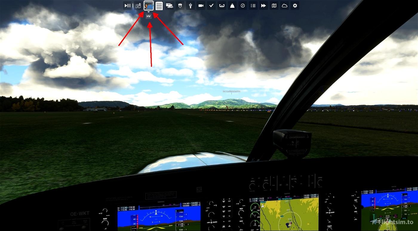 Hyper View Microsoft Flight Simulator