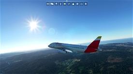 IBERIA Sukhoi Superjet 100 [Fictional]  Microsoft Flight Simulator