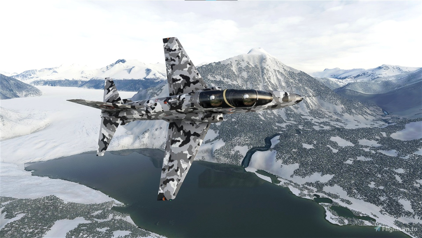 Indiafoxtecho Boeing T-45C Goshawk SimGameIt Urban/Snow Camo