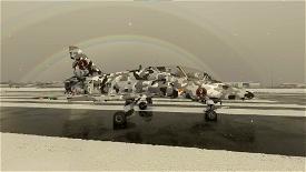 Indiafoxtecho Boeing T-45C Goshawk SimGameIt Urban/Snow Camo Microsoft Flight Simulator