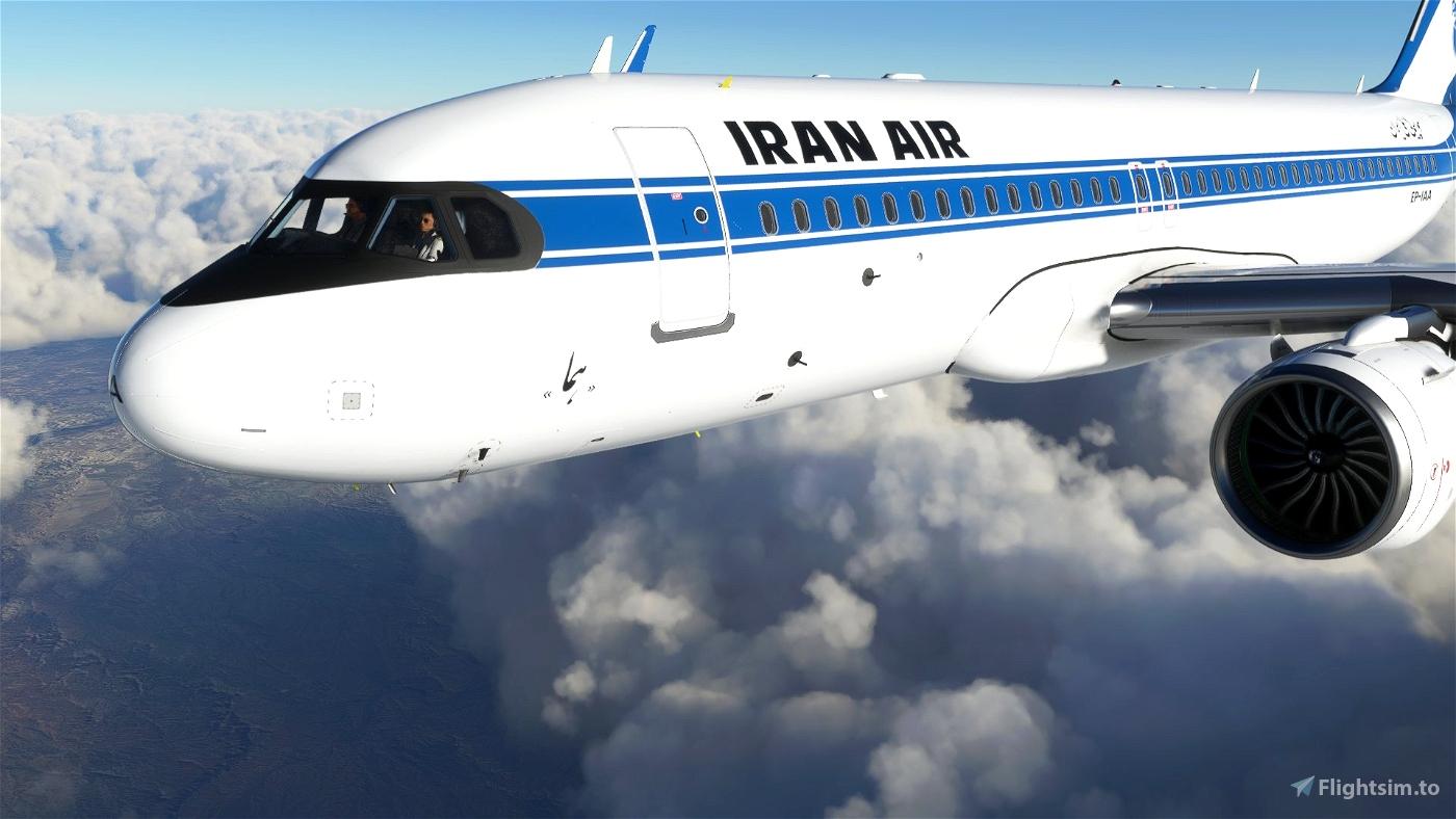 Iran Air Retro Style FBW A32NX - 8K