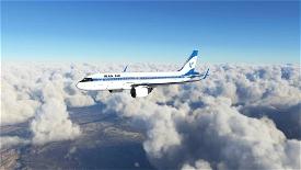 Iran Air Retro Style FBW A32NX - 8K Microsoft Flight Simulator