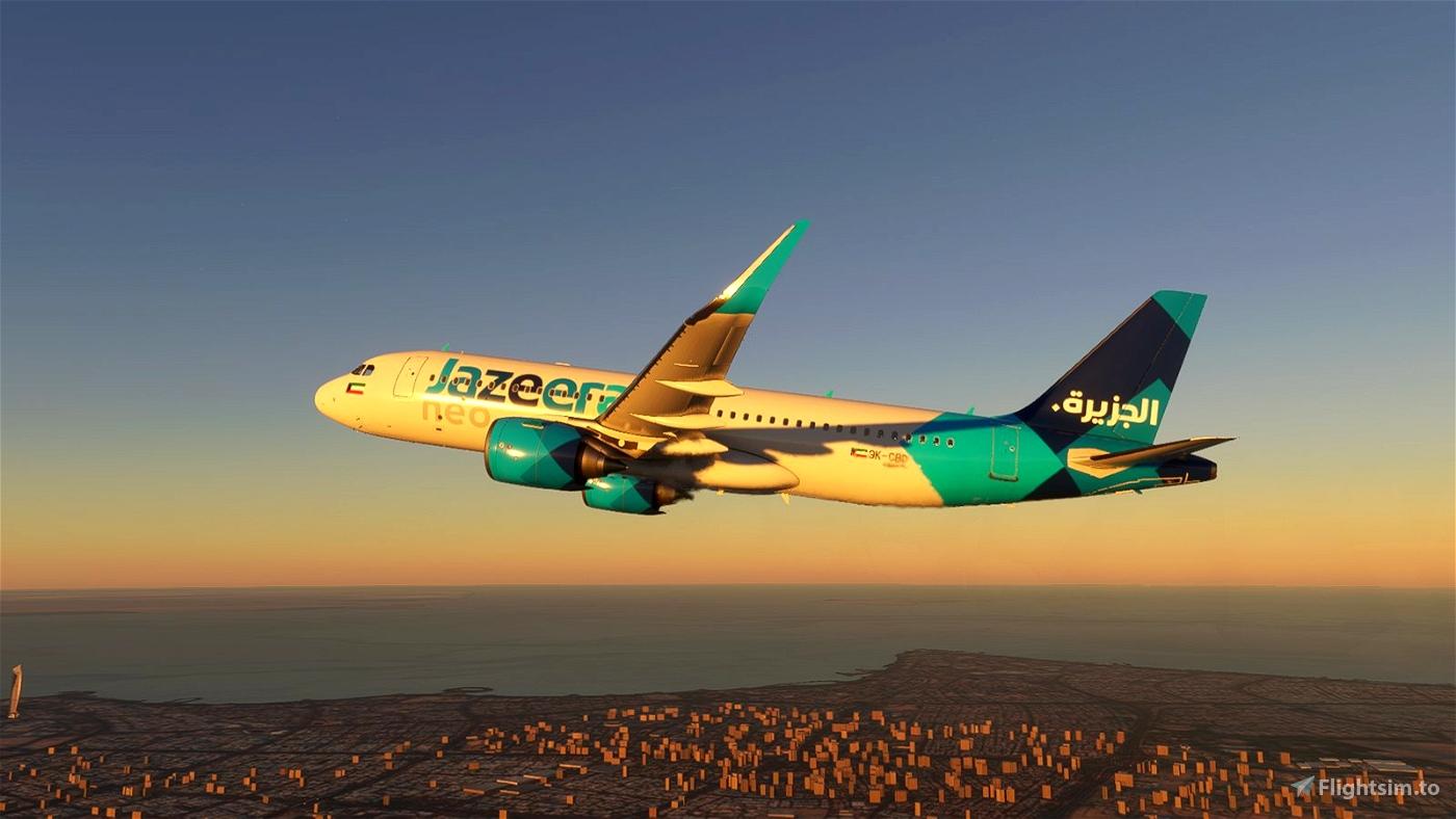 [A32NX] Jazeera Airways [4K] Microsoft Flight Simulator