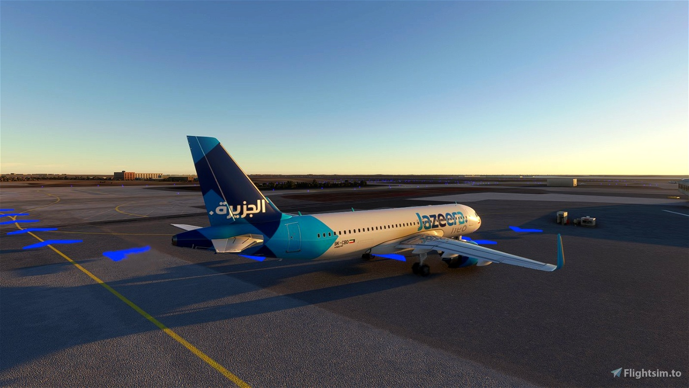 [A32NX] Jazeera Airways [4K]