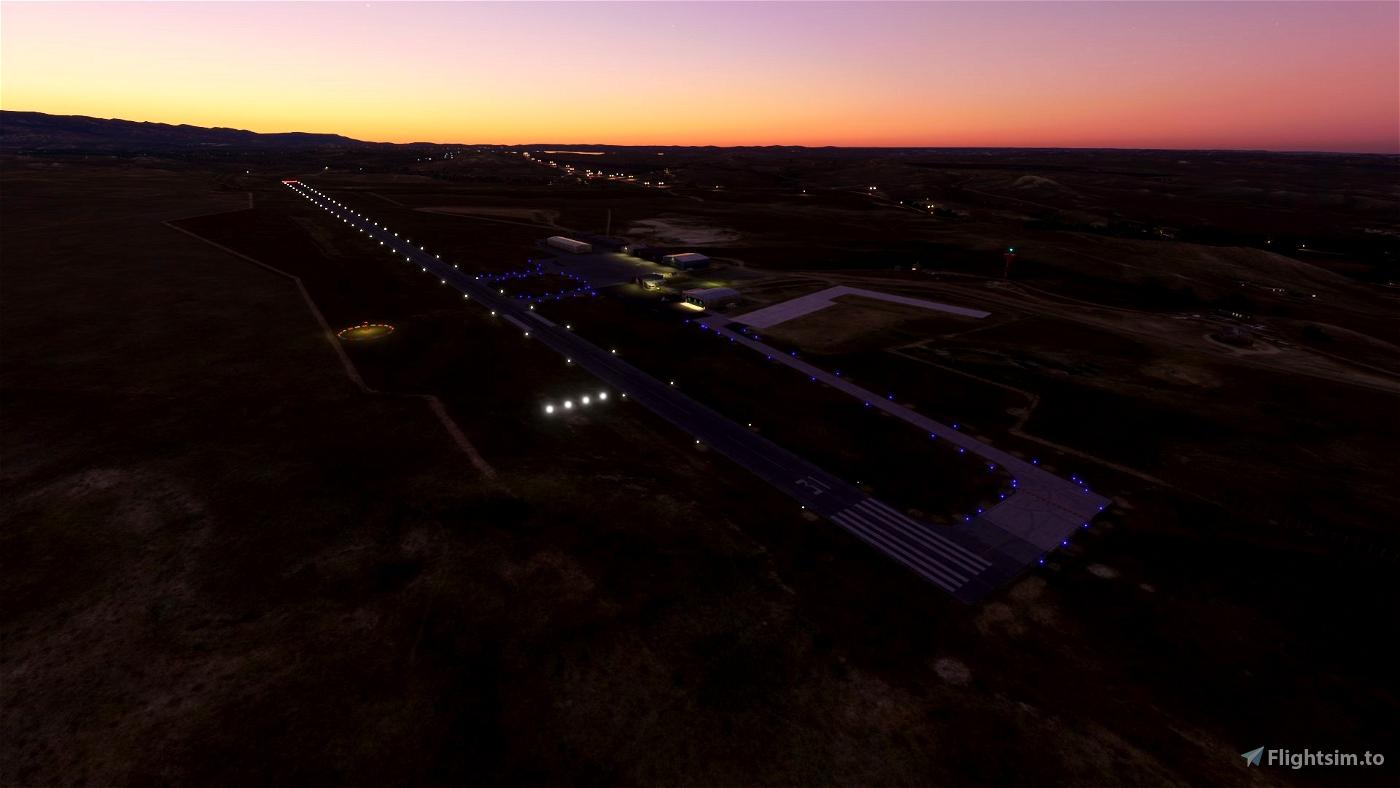 KBYG Johnson County Airport - Buffalo, Wyoming