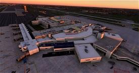 KCMH - John Glenn International Airport V2.0 (Includes  CMH Historic Objects Library) Microsoft Flight Simulator