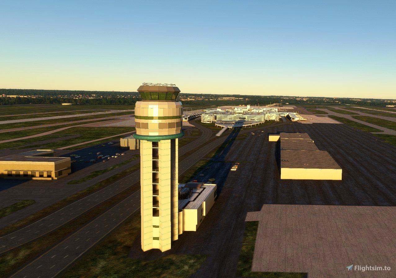 KCMH - John Glenn International Airport V2.0 (Includes  CMH Historic Objects Library)