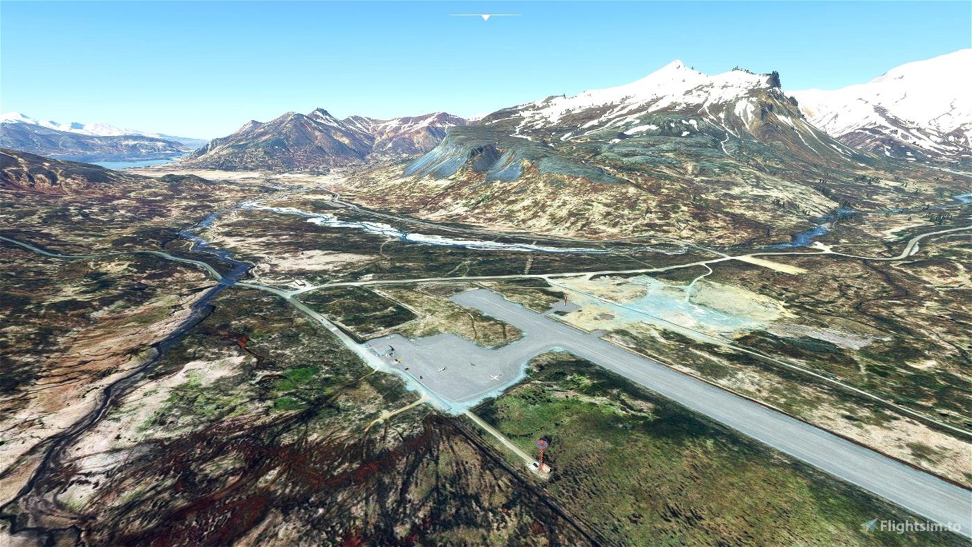 King Cove (PAVC), Alaska, US Microsoft Flight Simulator
