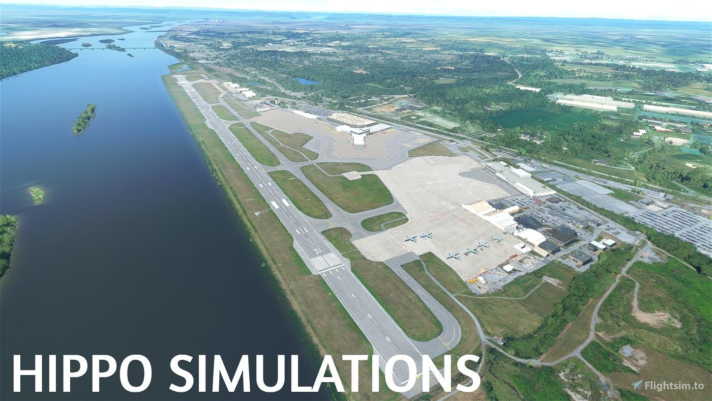 KMDT Harrisburg International Airport | Project PA Microsoft Flight Simulator