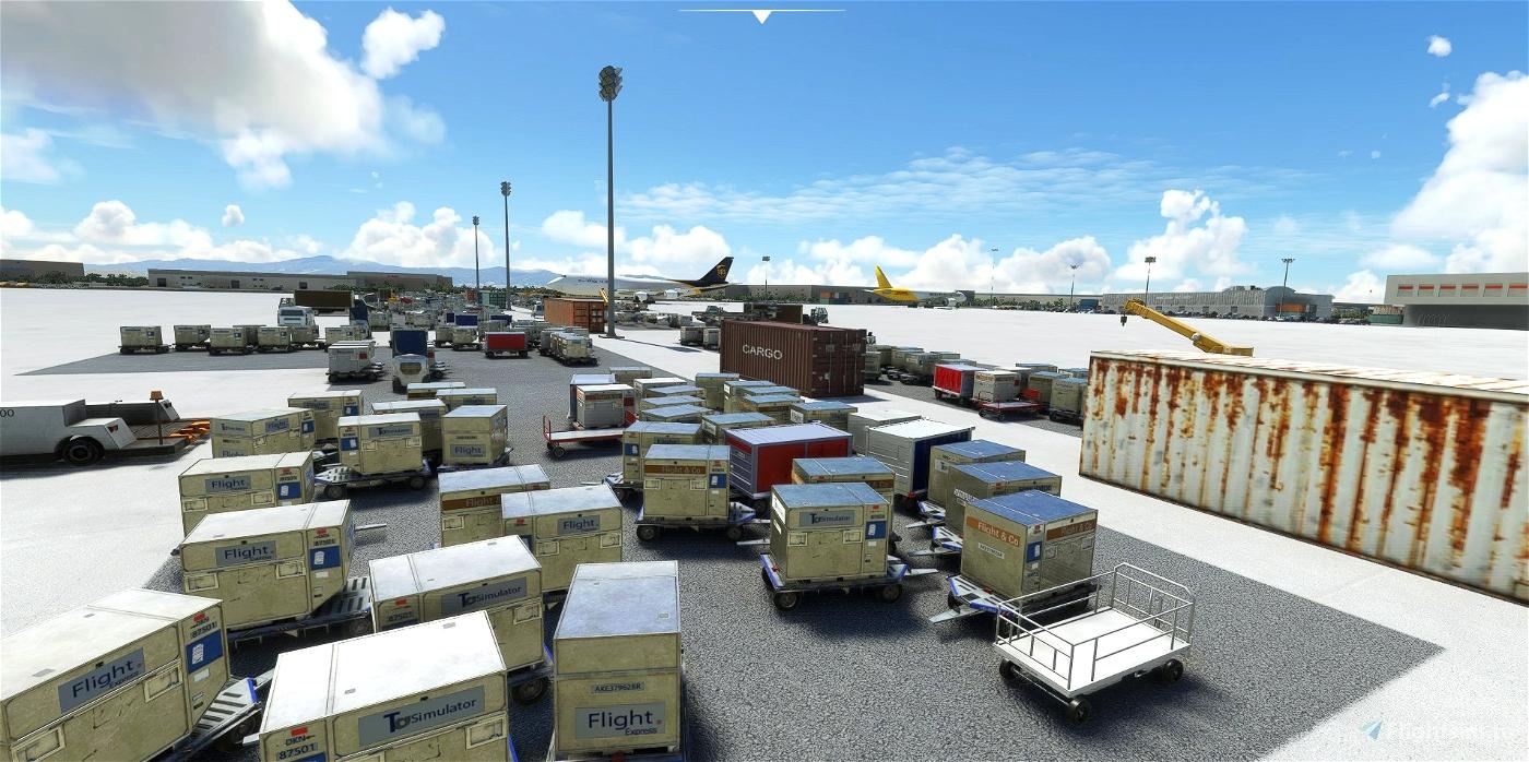 KONT-Ontario International  Microsoft Flight Simulator