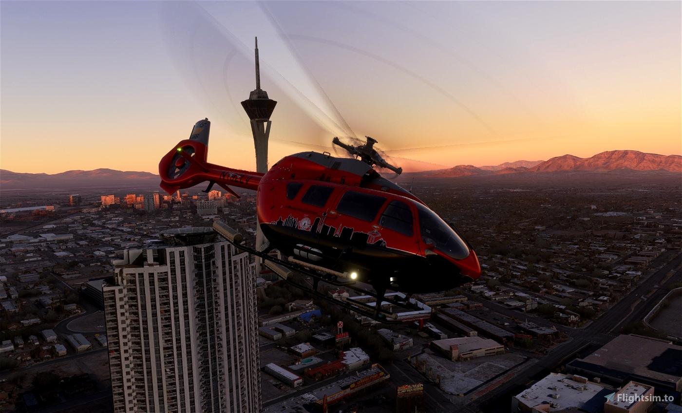 Las Vegas Tours (Fictional)   Airbus H145   8K