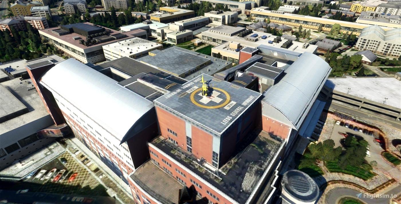 Leeds General Infirmary | Leeds, UK Microsoft Flight Simulator