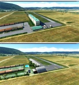 LEUM Pyrineum - Aeródromo de Lumbier (Navarra) Microsoft Flight Simulator