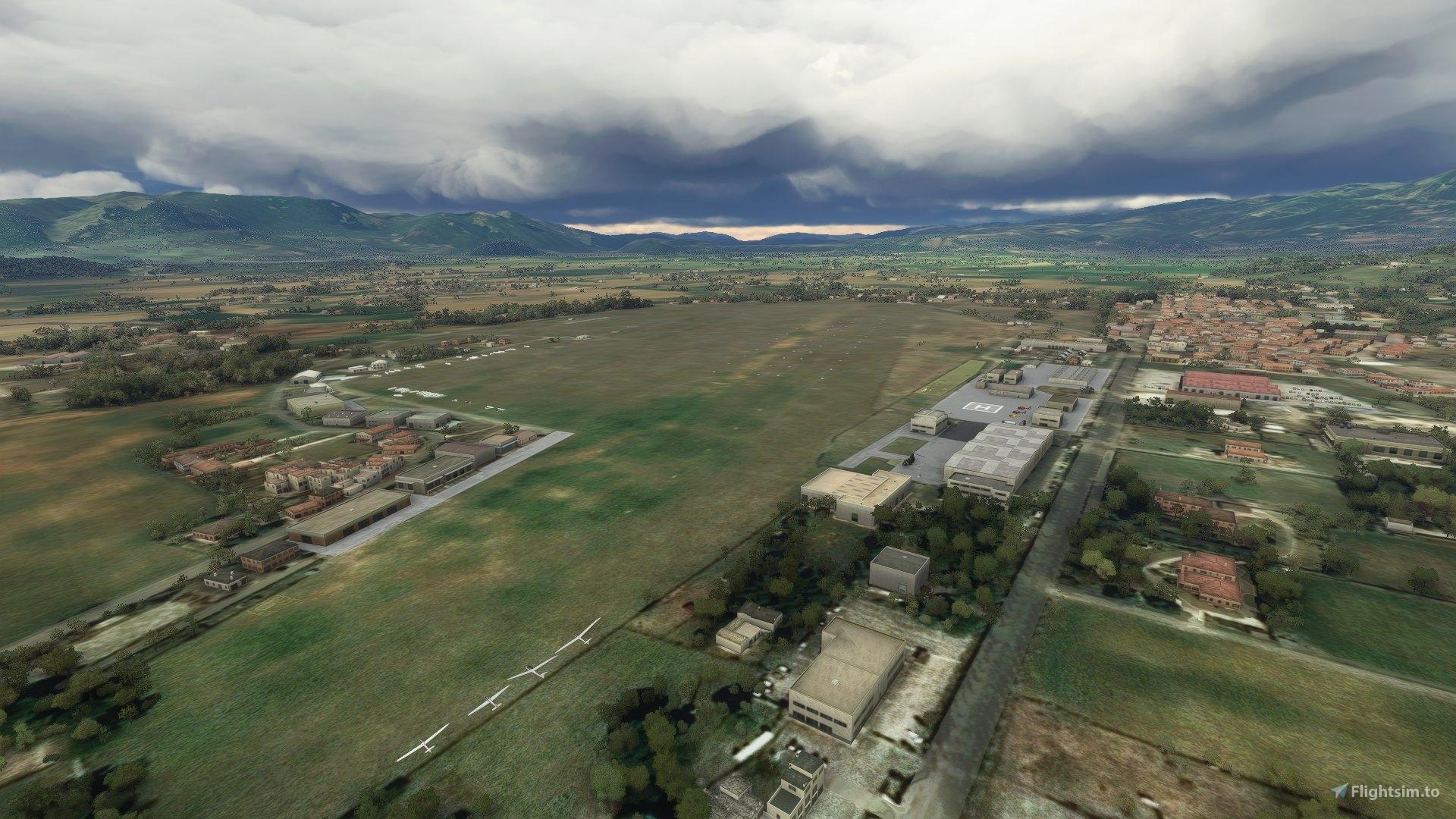 """Aeroporto """"G. Ciuffelli"""" (LIQN) – Rieti – Lazio"""