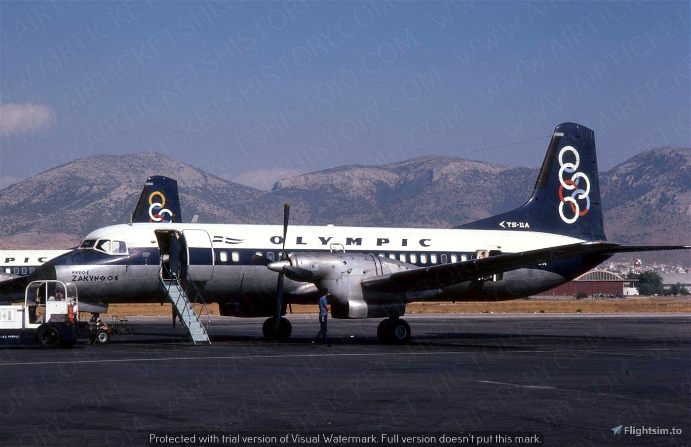 Livery-Grumman G-44A Widgeon in Olympic colors (requested)