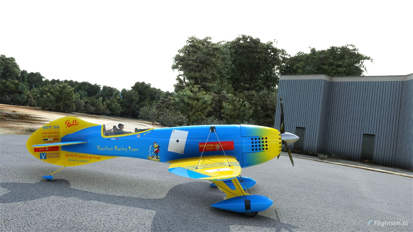 Livery Vaucluse Racing Team  V 2.0.0-GeeBee R3 special by Newdeclic
