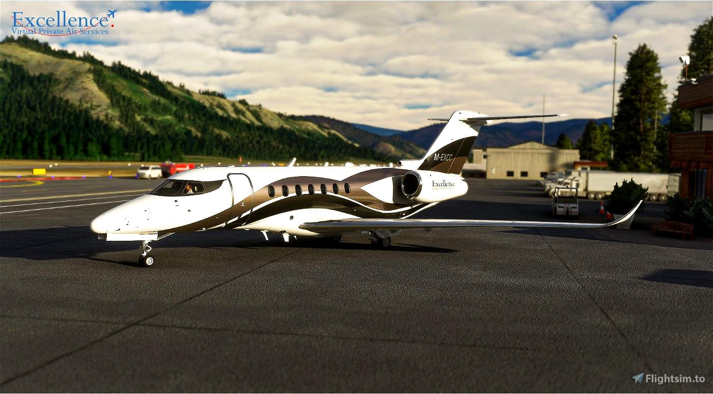 Longitude Excellence VPA Microsoft Flight Simulator