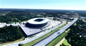 Meijski Stadion Wroclaw - Poland Microsoft Flight Simulator