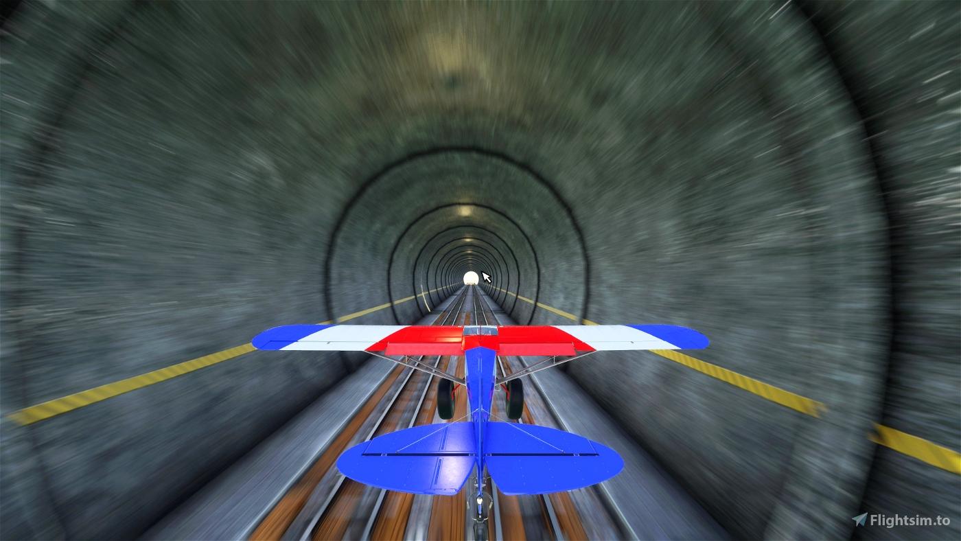 Mexican Tunnel Run Microsoft Flight Simulator