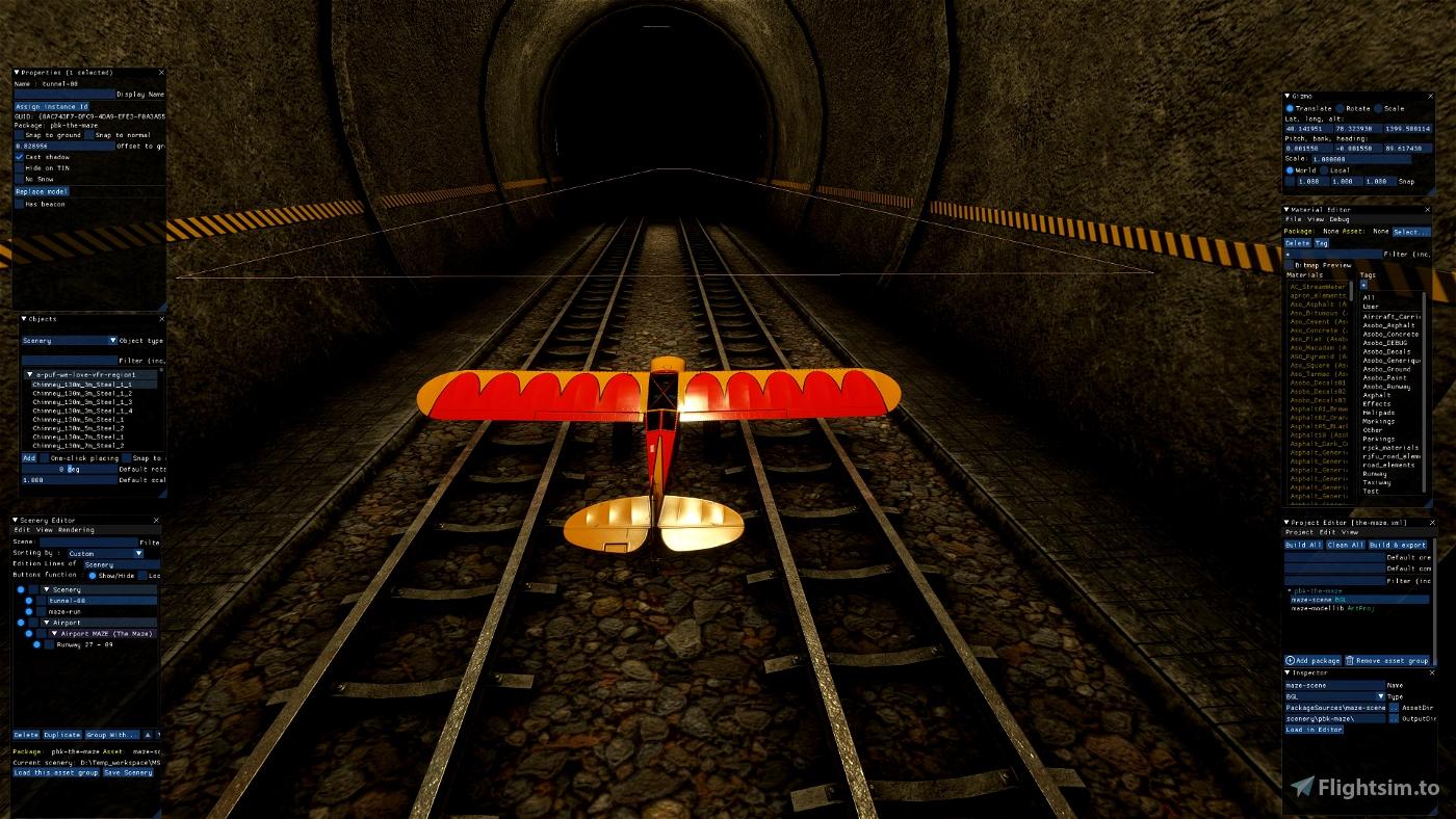 Mexican Tunnel Run