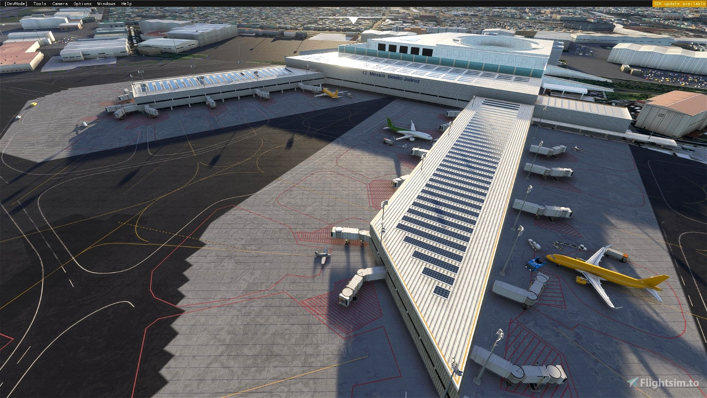 Mexico City Intl. MMMX Benito Juárez Microsoft Flight Simulator