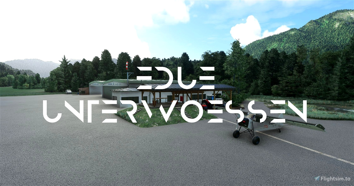 Mikea.at - EDUE, Unterwössen Microsoft Flight Simulator