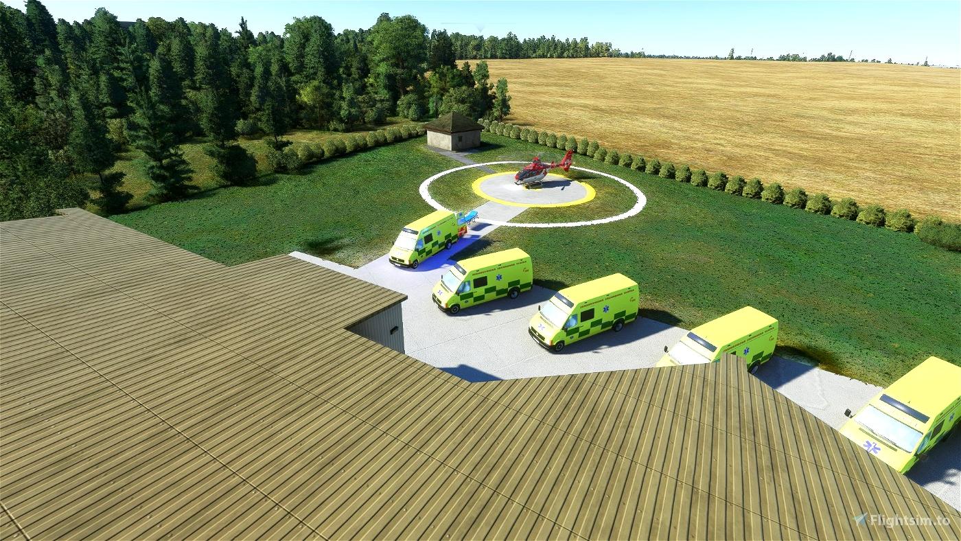 Moravian-Silesian Region Helipads + scenarios (WIP)