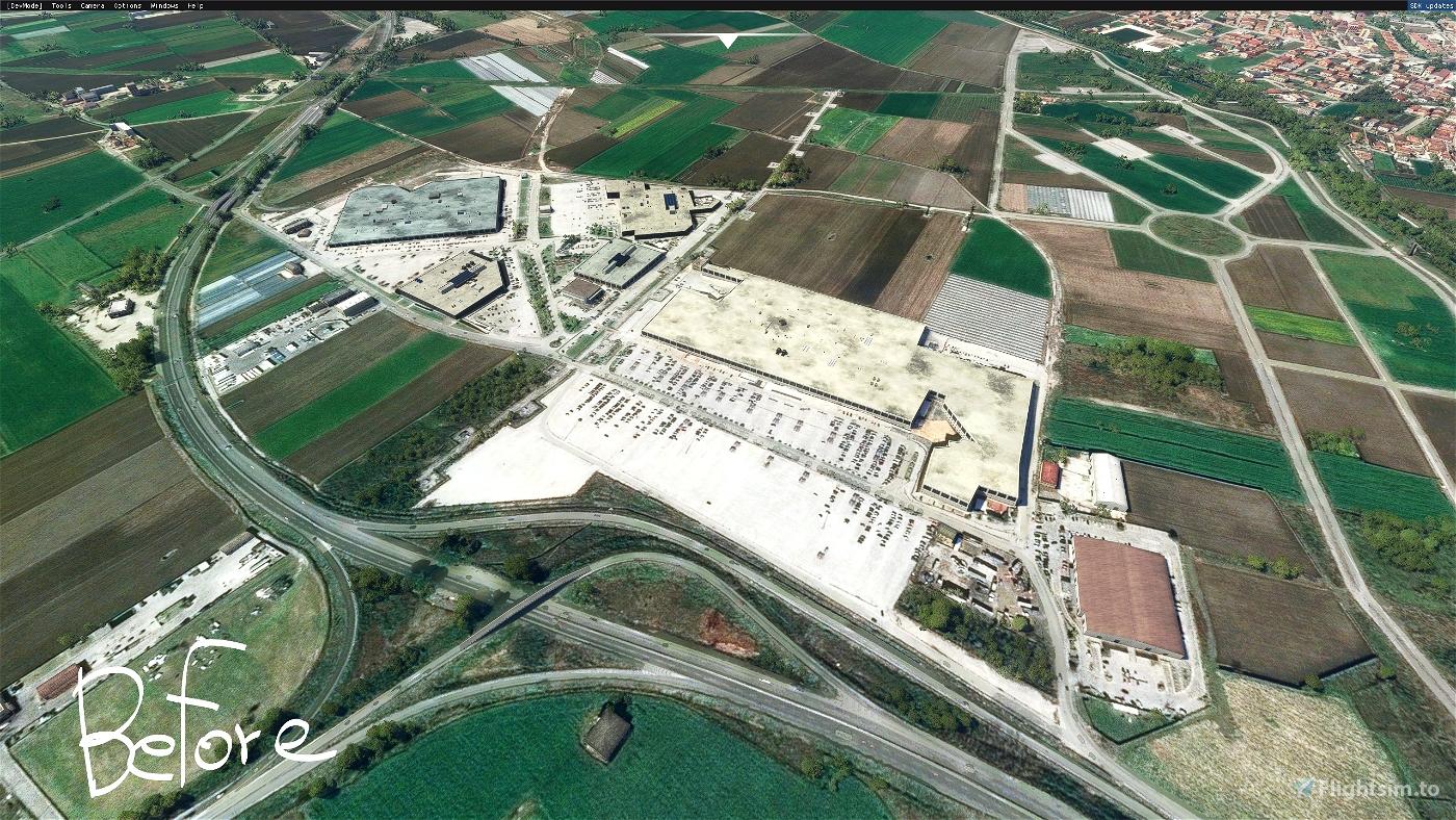 Napoli: Ipercoop di Afragola Microsoft Flight Simulator