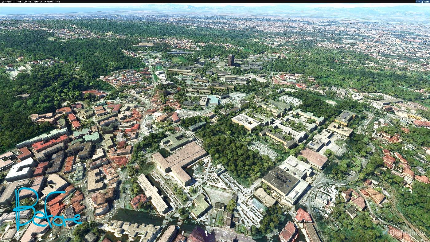 Napoli: Zona ospedaliera Microsoft Flight Simulator