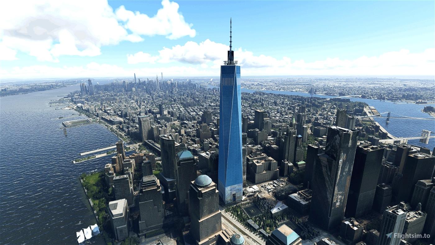 New York City Landmarks Microsoft Flight Simulator