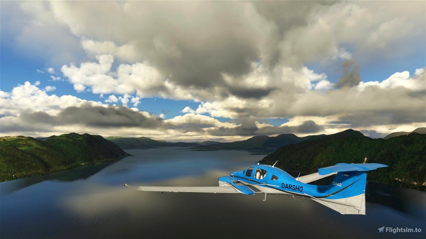Norway West Coast - 90 min. Scenic Flight - Visit the Alesund