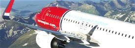 "[A32NX] NORWEGIAN LN-NGE ""UNICEF"" livery 8K Microsoft Flight Simulator"