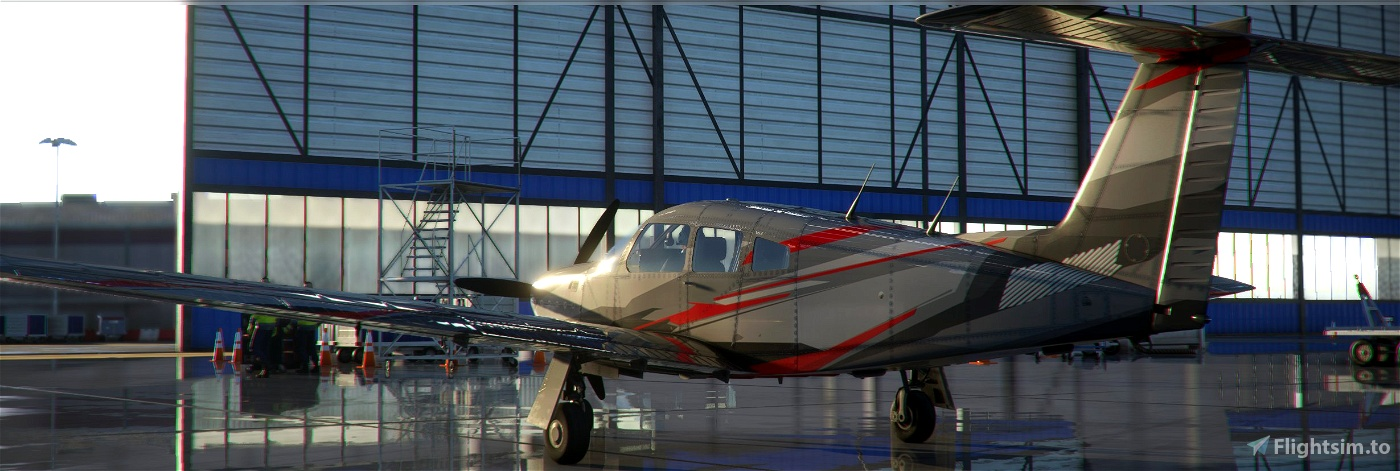 PA28 PIPER TURBO ARROW IV LIVERY Microsoft Flight Simulator