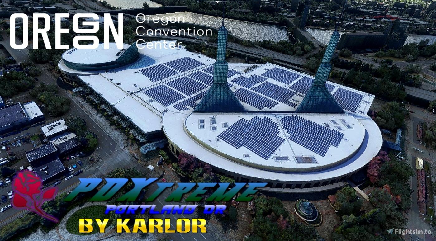 PDXtreme - Convention Center Block -Portland, Oregon