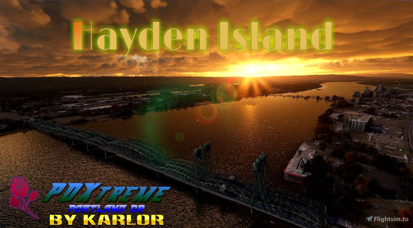 PDXtreme - Hayden Island - Portland, Oregon Microsoft Flight Simulator