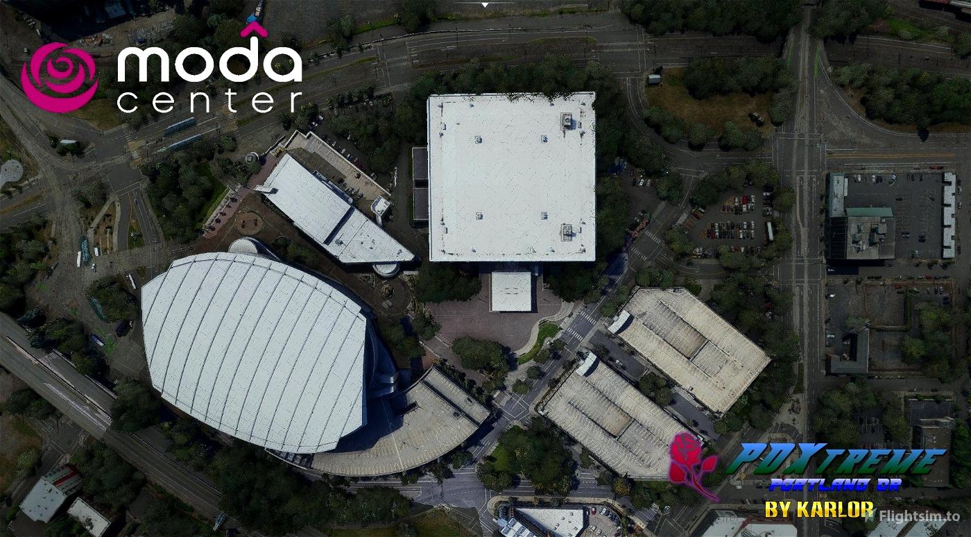 PDXtreme - Moda Center Block - Portland, Oregon