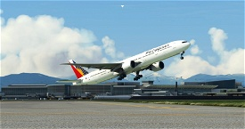 Philippine Airlines 777-300ER Ultra - Captain Sim Microsoft Flight Simulator
