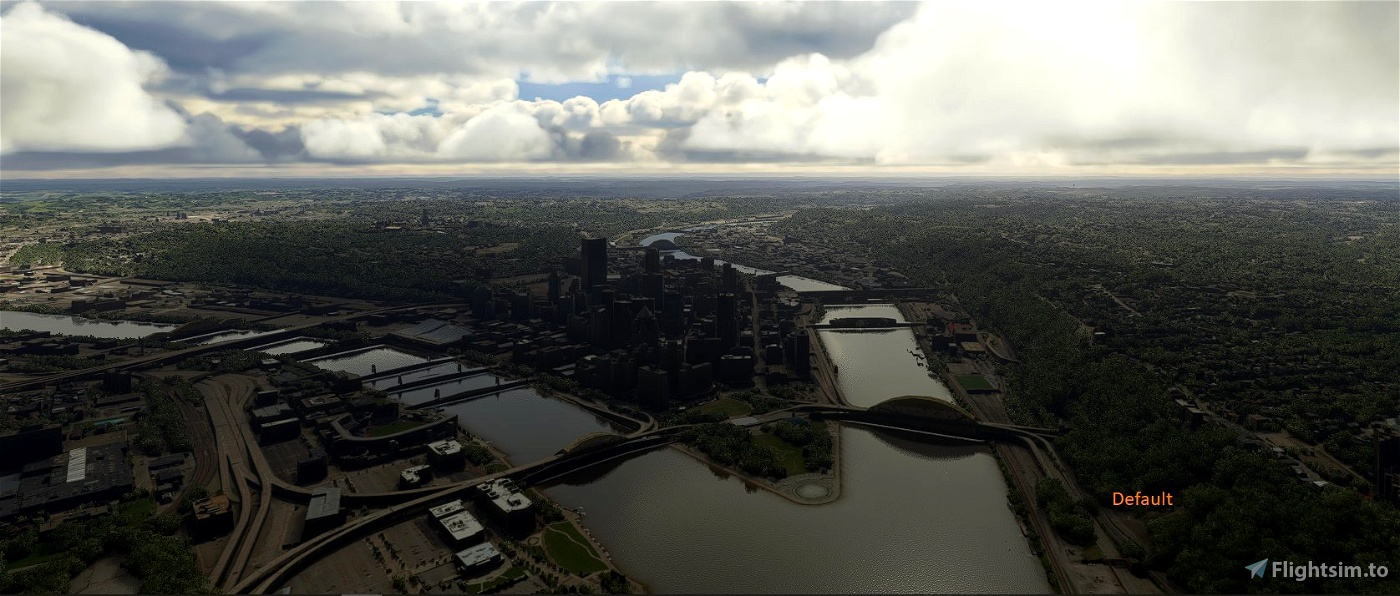 Pittsburgh, Fort Duquesne Bridge